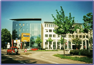 das Business Center Freiburg
